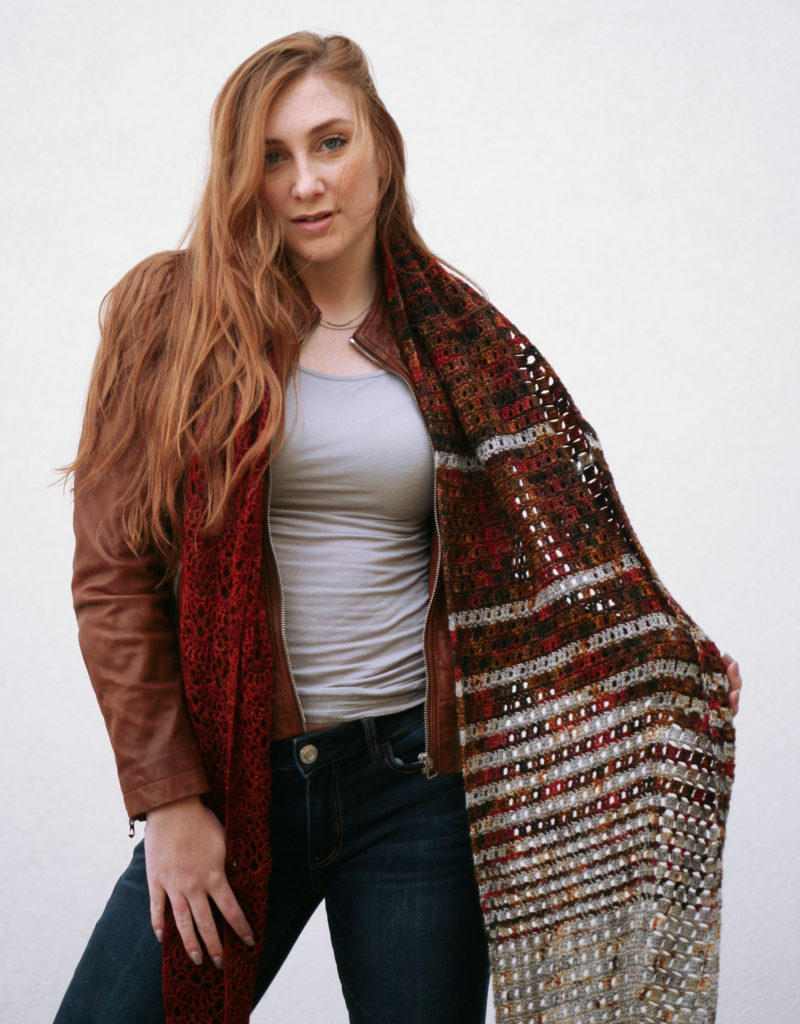 crochet shawl pattern okapi