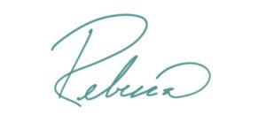 handwritten signature by Rebecca
