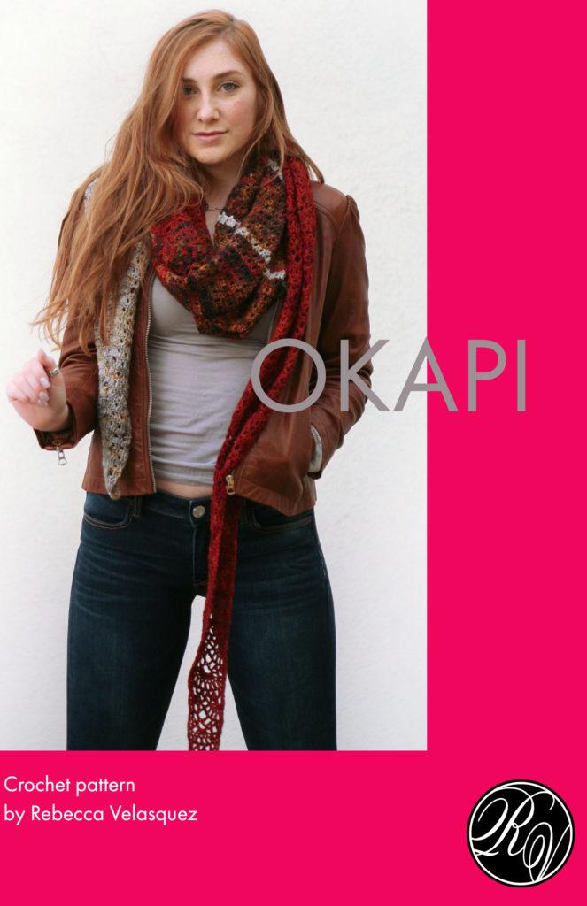 Okapi Crochet Shawl Pattern