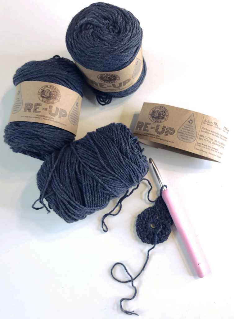 Yarn review of Lion Brand Re-Up.