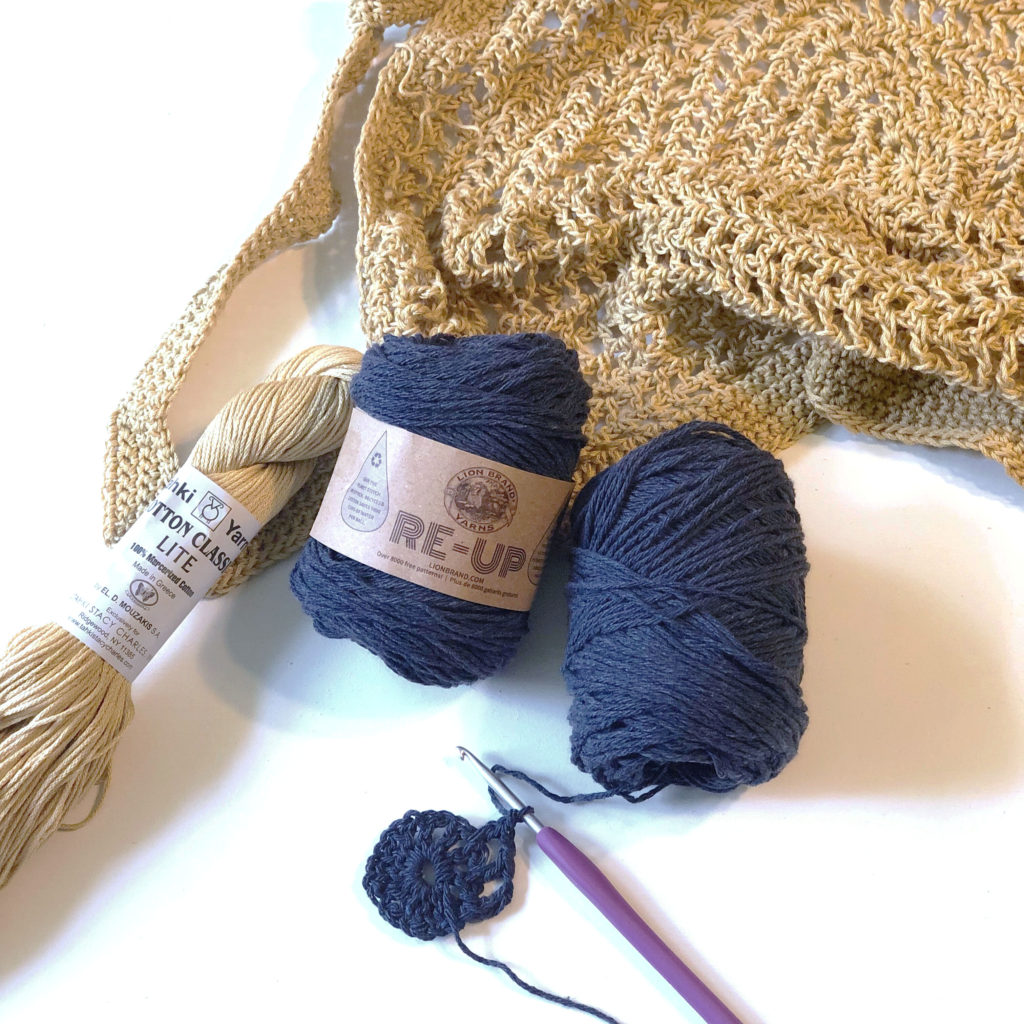 Yarn review of Lion Brand Re-Up yarn